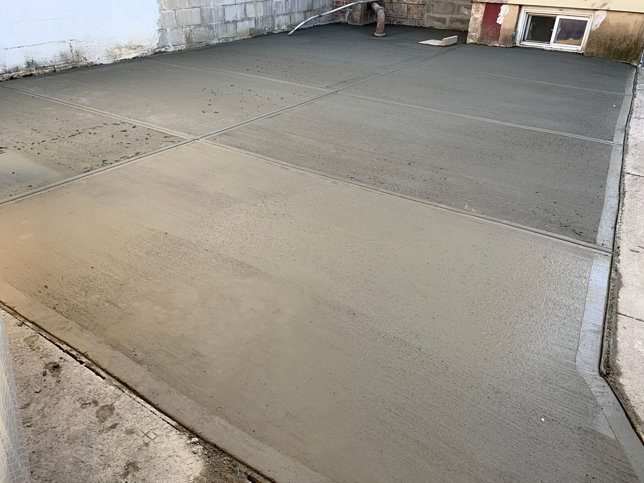 New Concrete Installer